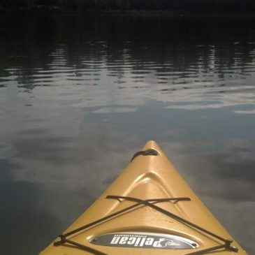 "A little ""Me and my kayak"" time~"